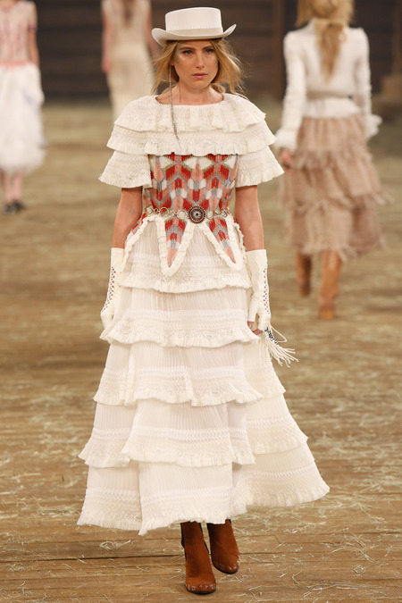 Dree Hemingway Chanel Pre Fall Dallas 1