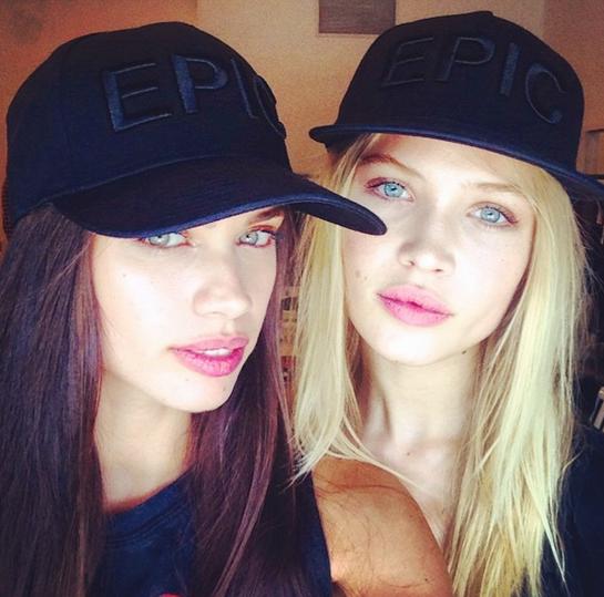 Sara Sampaio and Camilla Christensen - Instagram