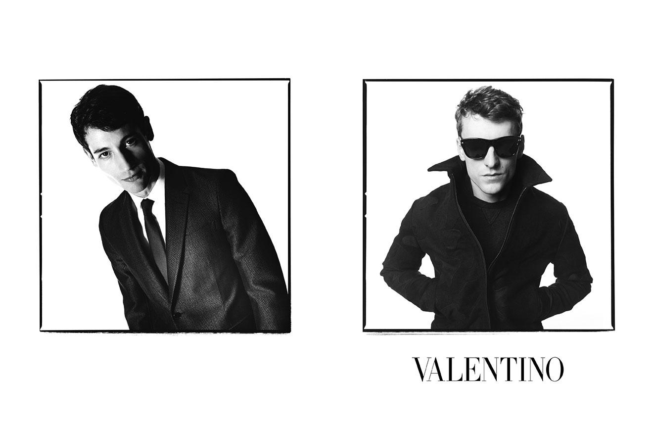 Valentino Menswear AW14 David Bailey -1