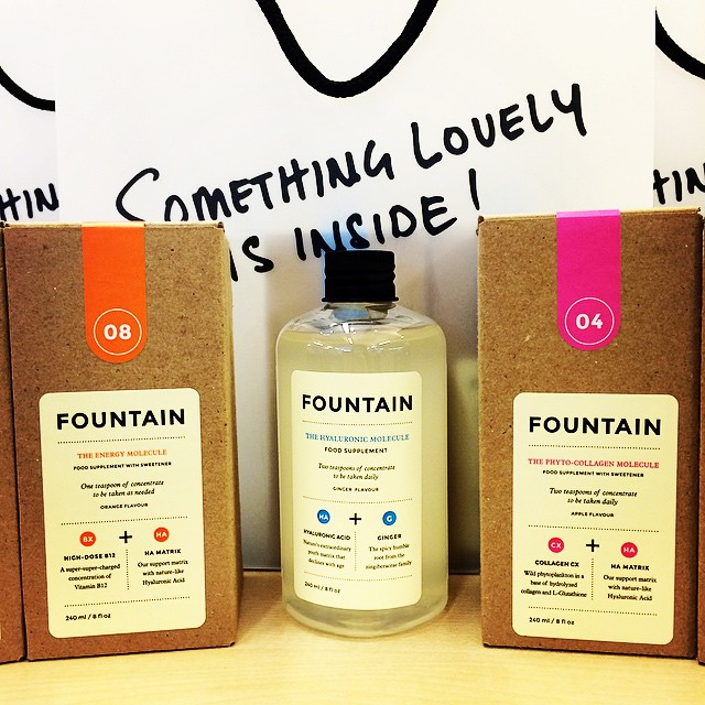 Thank you @10deciem for our #FountainBeauty products ? A perfect ingredient post fashion season ? #SS15 #Deciem