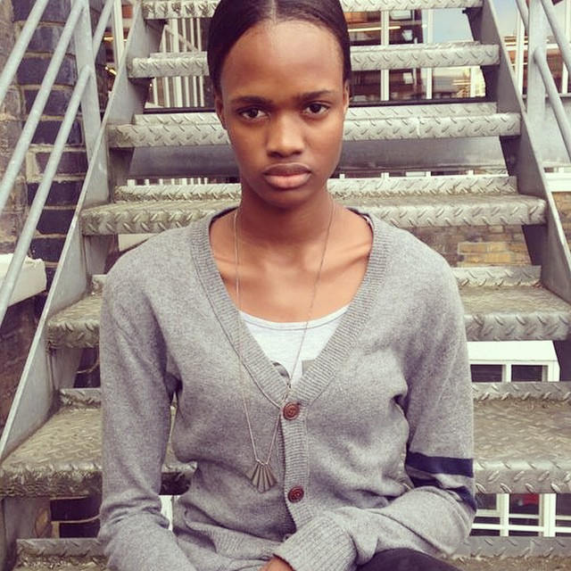 Amazing to meet you ❤️Aneita Moore - another incredible face in town & prepping for #M1LFW ? #InsideModels1 #One2Watch