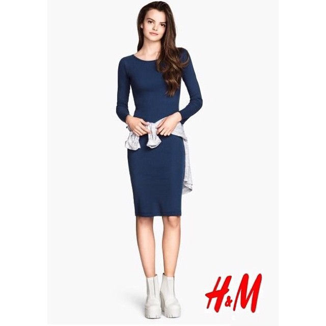 This @hm image just came in of Italian new face Ana-Laura (@analaura_ransdale) and we LOVE it! ?