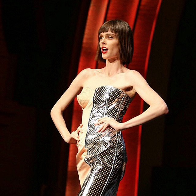 & Miss #JeanPaulGaultier SS15 is our superstar #CocoRocha (@cocorocha) What an amazing send out! #PFW ???