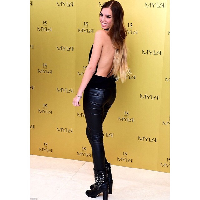#AmberLeBon was looking smoking hot last night for 15 years of #MYLA ? #M1SpecialBookings @amberlebon #Models1