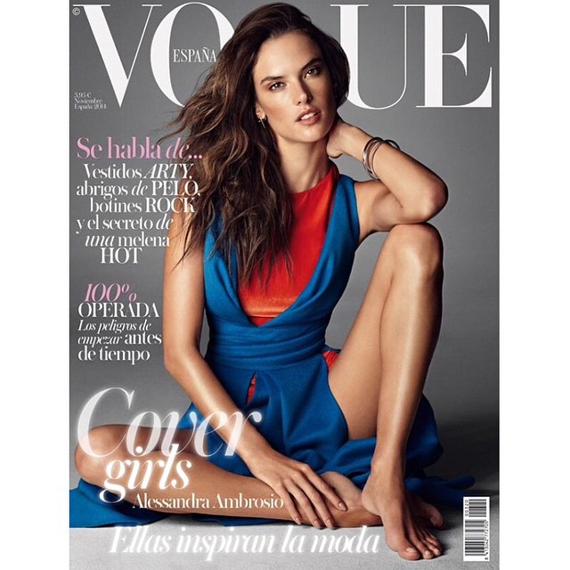 #AlessandraAmbrosio - #Vogue Spain November 2014 by #AlexiLubomirski @alexilubomirskiphoto