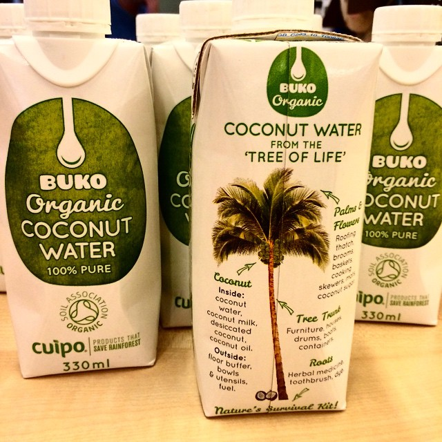SUPER HYDRATED & SUPER YUMMY ? THANK YOU @organic_buko #OrganicBuko #CoconutWater