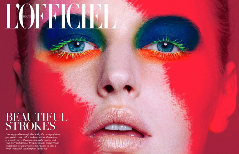 Helene Hammer — L'Officiel Singapore November 2014 by Fernando Gomez