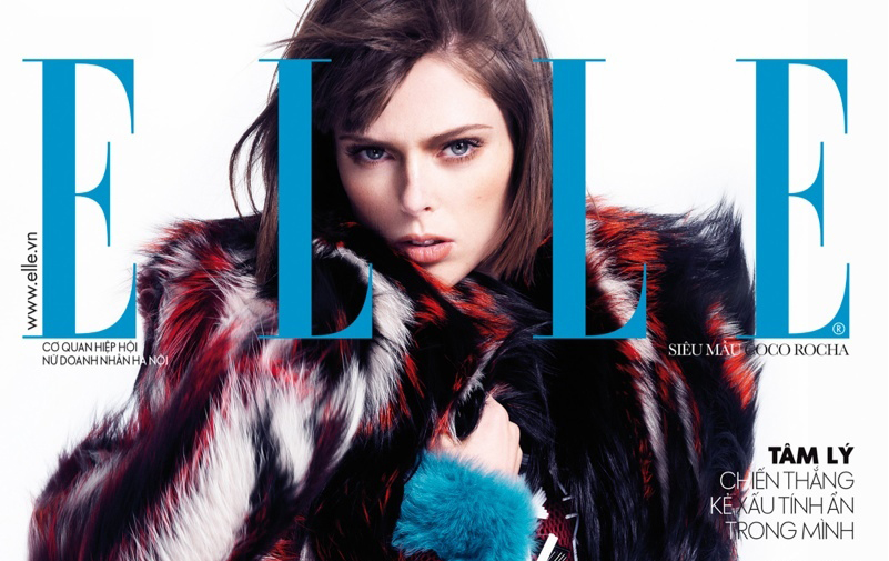 Coco Rocha — Elle Vietnam by Stockton Johnson