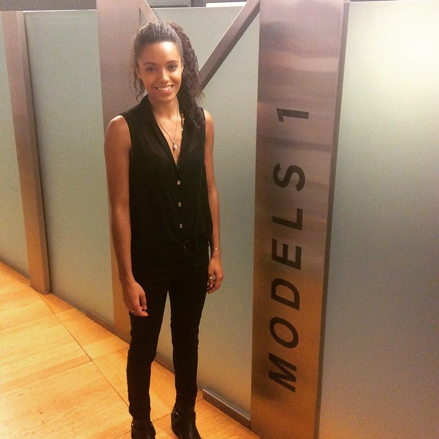 So lovely to see Maisie today! @maisiersellers! ?Such an exciting 2015 to come! #models1 #insidemodels1 #maisierichardsonsellers