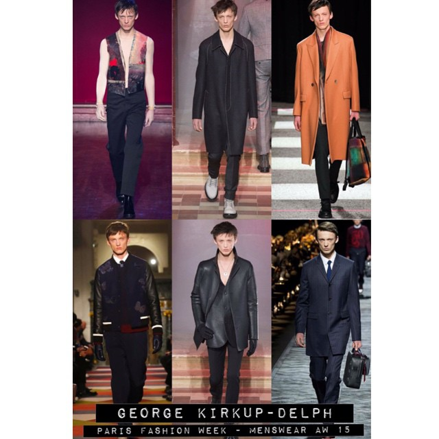 ?⚡️?⚡️✌️GEORGE KIRKUP-DELPH -  @george_kirkup_delph for #Valentino #MaisonMargiela #PaulSmith #Dior and closes the show for #Lanvin ! ?⚡️?⚡️? #pfw #models1 #m1men