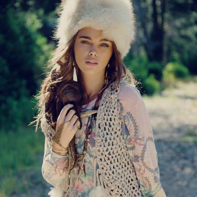 ???JENA GOLDSACK @jenagoldsack - WILDFOX @wildfoxcouture lookbook S/S 15 ??? #models1