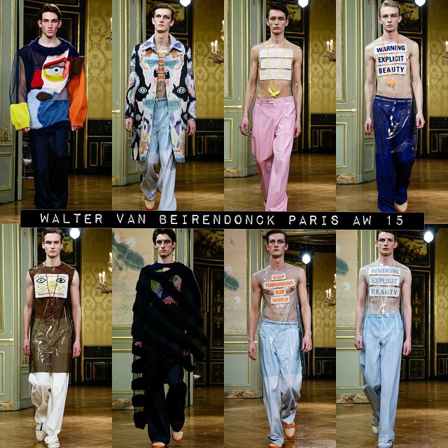 ⚡️⚡️⚡️⚡️⚡️⚡️⚡️⚡️⚡️⚡️⚡️⚡️ Our #Models1 boys Callum Rockall, Armin Keuchler, Arnis Cielava, Carol Sapinski, Frederik Ruegger, Toni Petkov & Steve McKeown  for #WalterVanBeirendonck Paris Fashion Week Men's AW 15! #pfw #M1men ⚡️⚡️⚡️⚡️⚡️⚡️⚡️⚡️⚡️⚡️⚡️⚡️⚡️⚡️⚡️⚡️