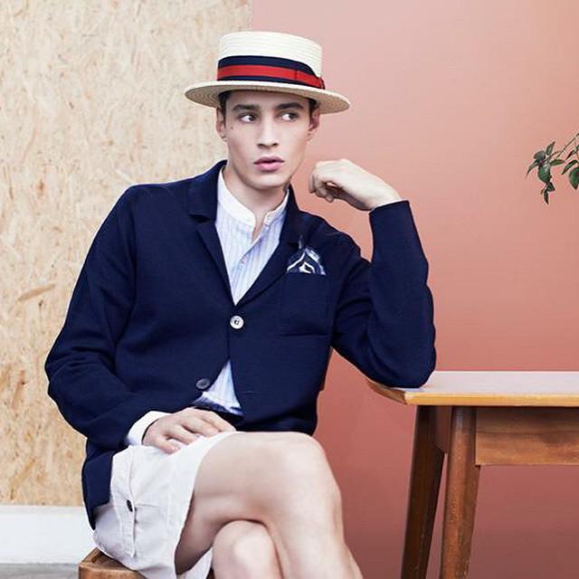 ??⭐️ Adrien Sahores - Apropos Journal S/S 15 @aproposmagazine #models1 #m1men