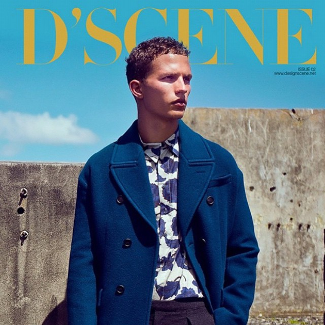 ? ? NATHANIEL VISSER @nathanielvisser for @designscene #dscene magazine wearing @Burberry, photographed by @patsupsiri #models1 #m1men
