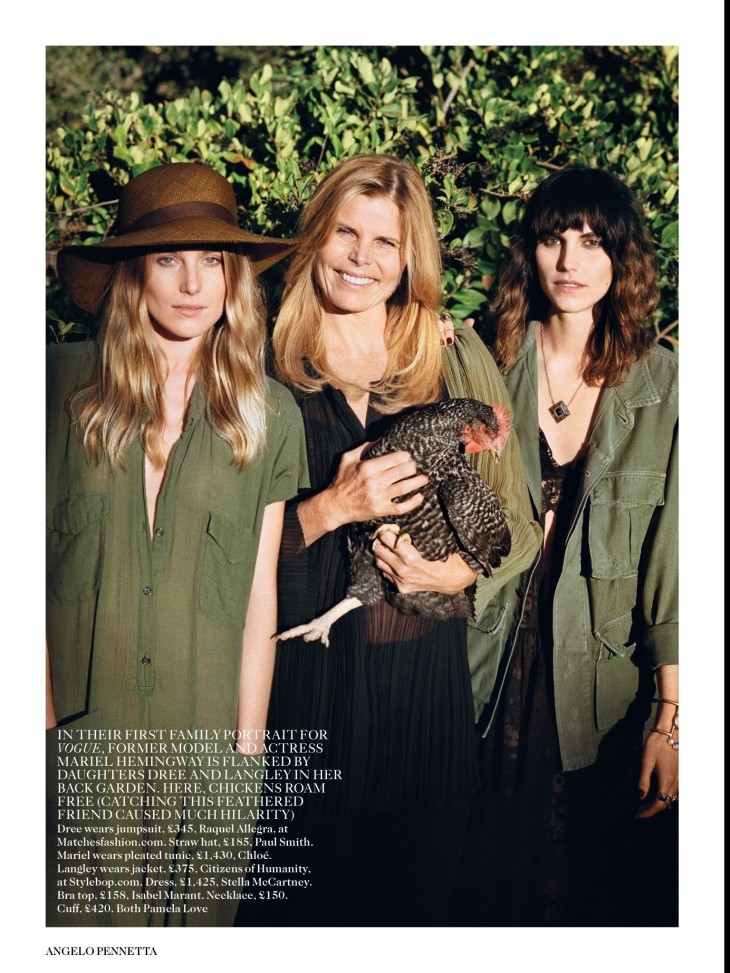 Dree Hemingway - Vogue July by Angelo Pennetta-4