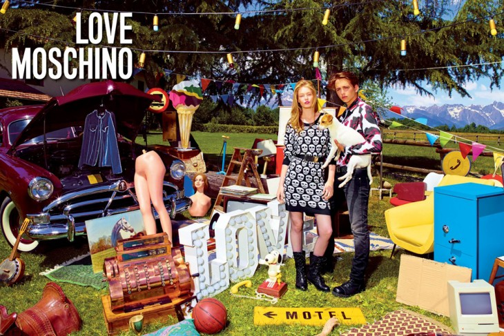 Hollie May Saker Love Moschino Models 1 1
