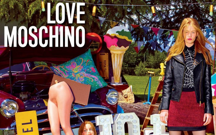 Hollie May Saker Love Moschino Models 1 1 BIG FEAT