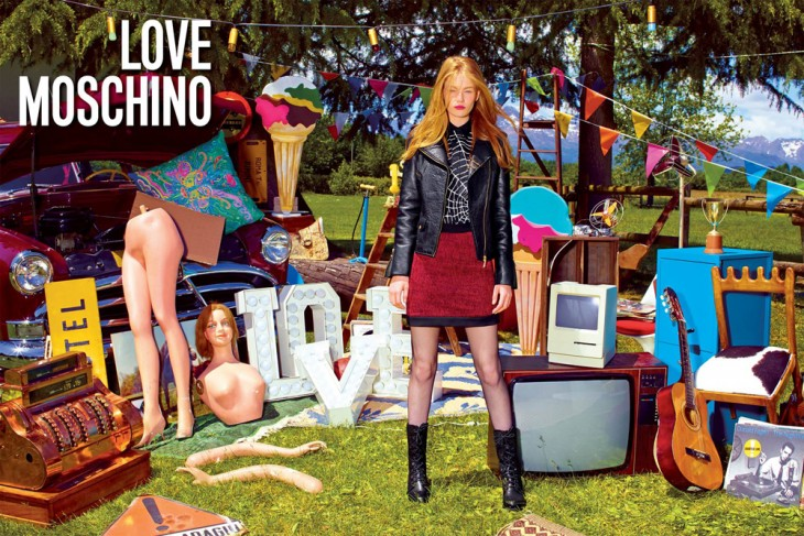 Hollie May Saker Love Moschino Models 1 2