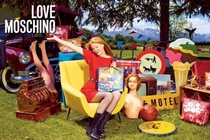 Hollie May Saker Love Moschino Models 1 3