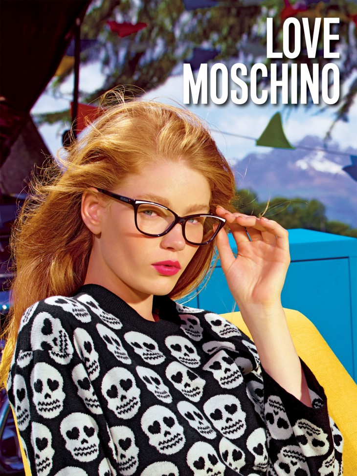 Hollie May Saker Love Moschino Models 1