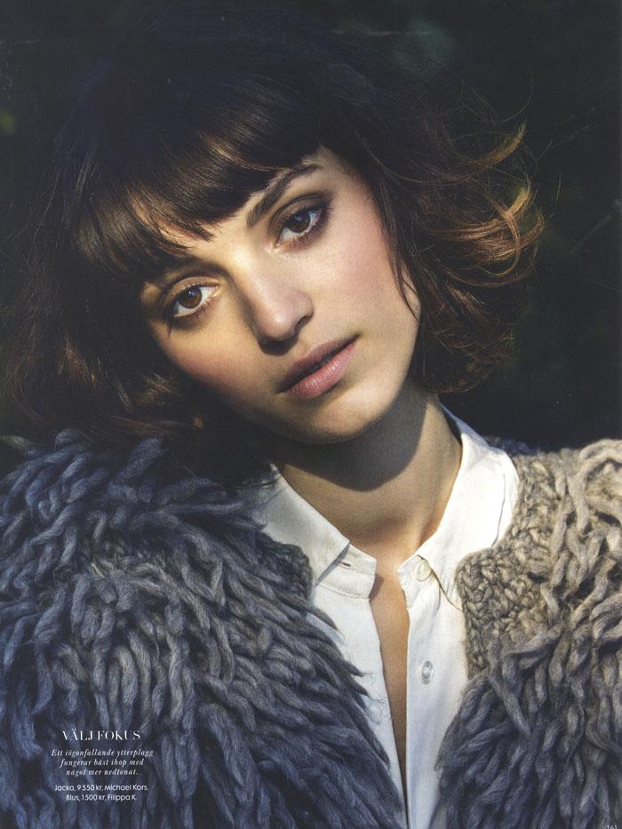 Rebeca Marcos — Elle Sweden by Elisabeth Toll - Models 1 Blog