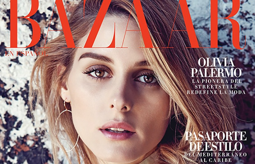 Olivia Palermo — Harper's Bazaar Mexico June/July 2016