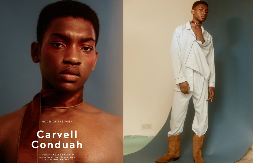 Carvell Conduah — Model Of The Week, Models.com