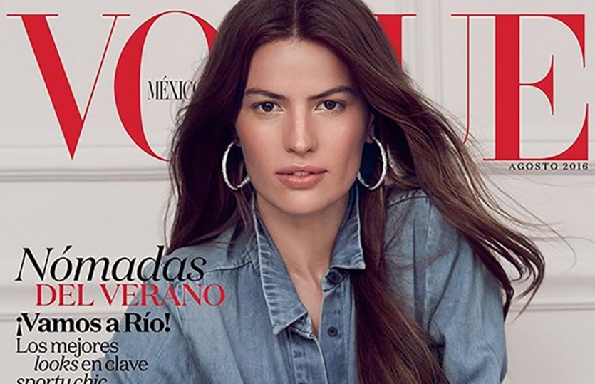 #COVERGIRL: CAMERON RUSSELL — VOGUE MEXICO AUG 2016